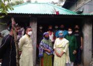 বানারীপাড়ায় টিআর প্রকল্পের মাধ্যমে গৃহহীনকে ঘর দিলেন এমপি মিরা